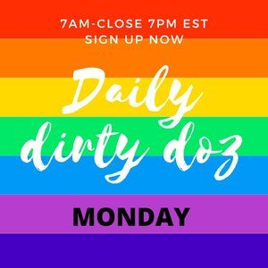 Other - MON 11/30 SIGN UP OPEN DIRTY DOZEN SHARE GAME